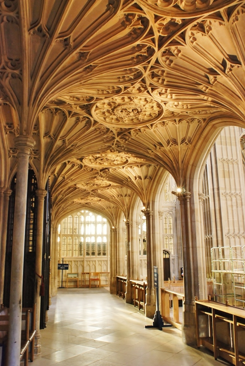 Walkway Between the Chapel and the Choir Room