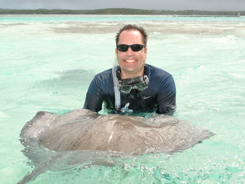 Greg and stingray